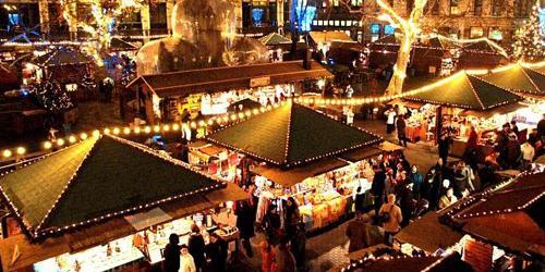 marché de noël, budapest, place vorosmarty, avent budapest, opéra budapest, festival budapest